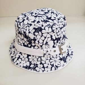Burberry London Blue Floral Bucket Hat